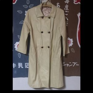 Jackets & Blazers - Leather coat from Italy